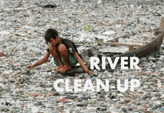 Indonesia River Clean-up Challenge
