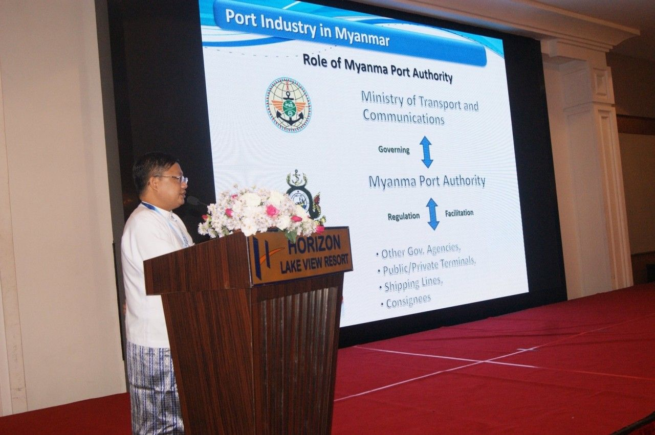 Dr Myo Nyein Aye, Deputy General Manager – Myanma Port Authority (MPA)