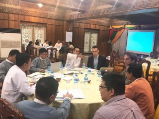 Yangon as Resilient Logistic Center of a Multimodal Transport System