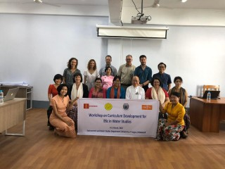 Top international experts gathered at the University of Yangon to discuss new Water Studies curriculum