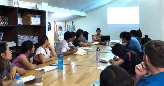 "Knowledge sharing on ""Sustainable Water Management in Environment"" at Thabyay Education Foundation"